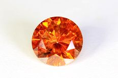 Red diamond – 0.77 ct