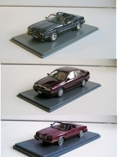 Neo - Scale 1/43 - Lot with 3 models:  Reliant Scimitar, Lancia Kappa and Dodge.600