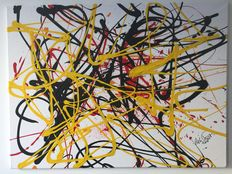 Rick Triest - The modern movement compositions - yellow super surprise