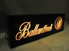 Illuminated sign of Ballantine´s whisky - Spain - Second half of the 20th century