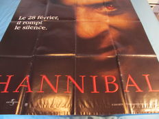 Set of 7 originals French Movies posters  - HANNIBAL from Ridley Scott 2001 - Stir of Echoes 1999 with Kevin Bacon - Patrick 1979 from Richard Franklin - Town on Trial 1956 de John Guillermin