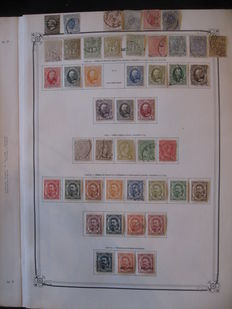 Luxembourg 1852/1955 - collection of stamps