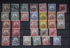 German colonies and historic states - batch of 298 stamps