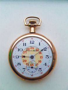 Hampden -  pocket watch (1900).