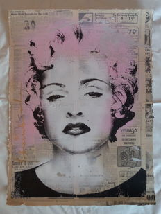 "Mr. Brainwash - Madonna ""brainwashed"""