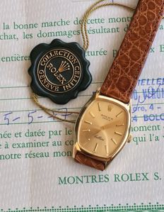 Rolex 18k Cellini Sigma Dial - Ladies
