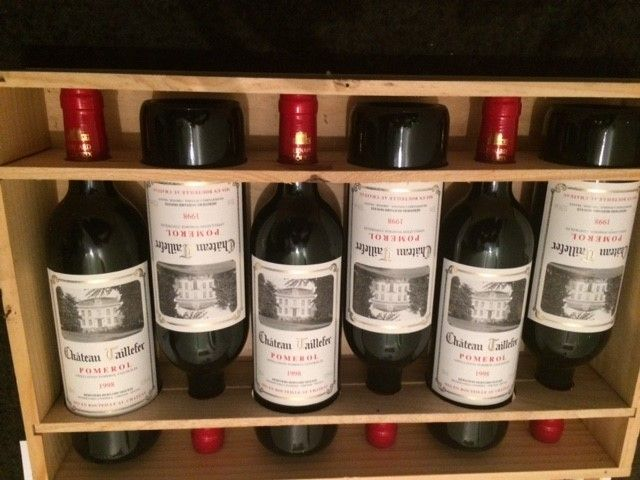 1998 Chateau Taillefer Pomerol – 6 bottles in OWC.