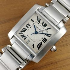 Cartier Tank Francaise Automatic Date Men´s Watch