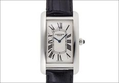 Cartier Tank Américaine  Platinum Collection Ref. 1734A - Unisex watch - 1999