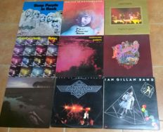 Deep Purple and related. 11LPs