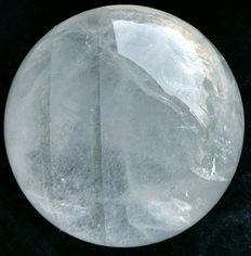 Magnificent transparent Rock crystal sphere - 160 mm - 5.6kg