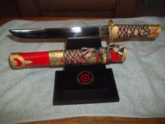 Franklin Mint Bushido Blade Tanto met unieke display