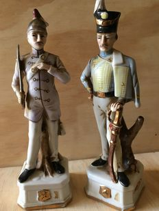 Two porcelain figurines