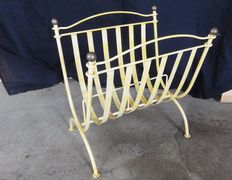 Unknown - Newspaper and magazines holder made out of iron and brass