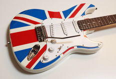 Tribute electrische gitaar / English Flag St Model