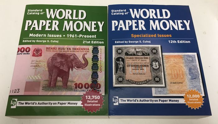 Literature - Krause World Paper Money Catalogue 1961 - Present and Specialized