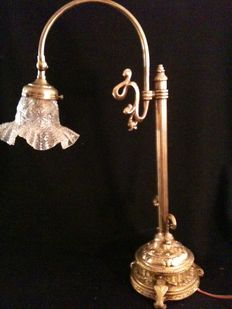 Bronze lamp - Italy - about 1905