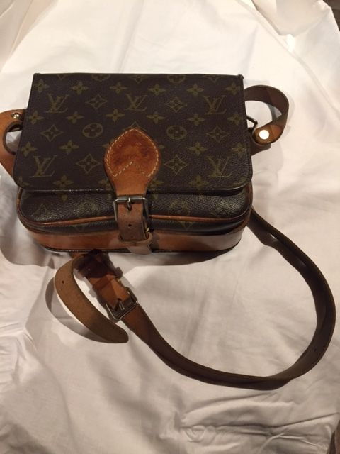 Louis Vuitton - Vintage messenger bag cartridge bag with shoulder strap