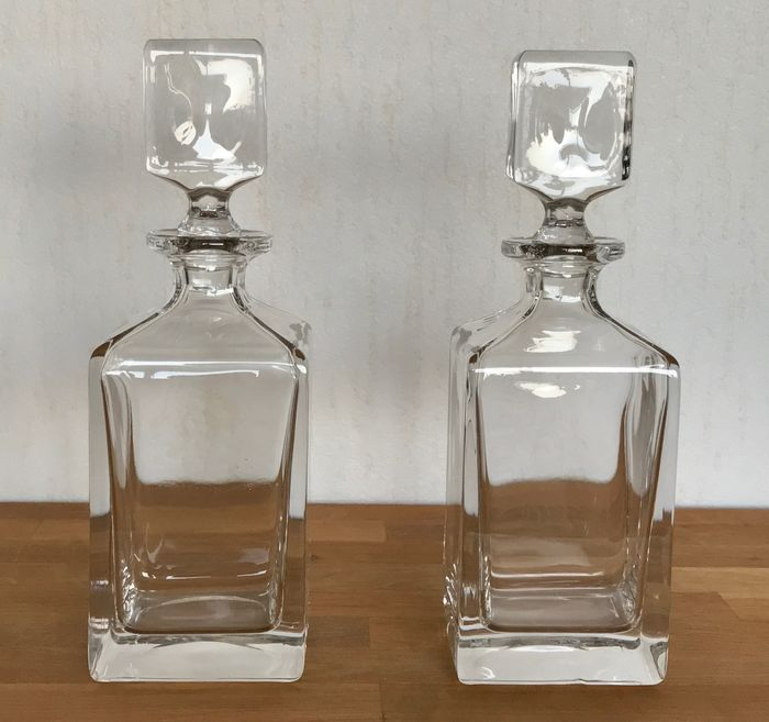 2 Crystal whiskey carafes - Villeroy & Boch