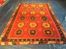 A Turkish Kilim carpet - Oriental carpet - 100 % handwoven