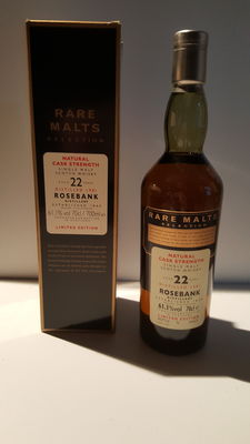 Rosebank 1981 - 22 years old - Rare Malts
