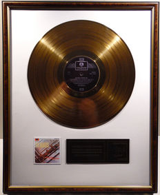"The Beatles - Please Please me  -  12"" Parlophone EMI record gold plated record by WWA Awards"