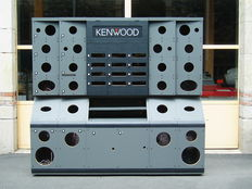 Kenwood - Shop display for car radios - display stereo furniture AUDITORIUM - 220 x 200 x 60 cm