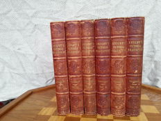 William Shakespeare & Charles Knight - Pictorial Edition of the works of Shakespeare - Six volumes - 1840