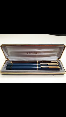 Set of 3 Parker pens, Made in the Uk in the 70s