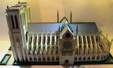 Notre Dame Cathedral, Paris. Prototype for a publisher´s collectible. Around the year 2000
