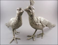 Two silver pheasants - England - second half of the 20th century