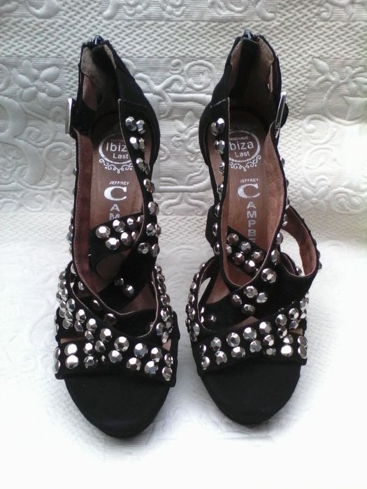 Shoes With Silver Model Campbell Ibiza Jeffrey Suede Studs YH29EWDI