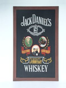 Very exclusive Jack Daniels sign - 2m high