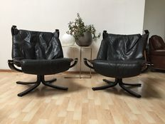 Sigurd Ressell by Vatne Mobler – Falcon chairs, 2x