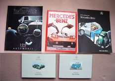 Automobile Books; Lot with 5 edition about Mercedes-Benz - 1984/2008