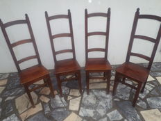 Vintage, wood chairs, Portugal, the 80s