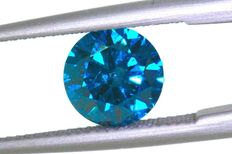 fancy blueish green Diamond – 0.36 ct