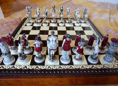 Decorative collectible chess set