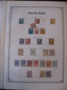 Netherlands - 1852-1957 - Stamp collection