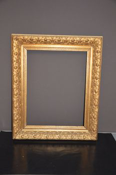 hand gilded picture frame