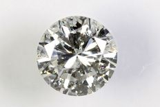 Diamante a taglio brillante da 0,32 ct – H / I1.