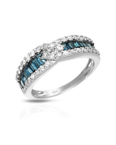 Designer ring met 0,98 ct diamanten