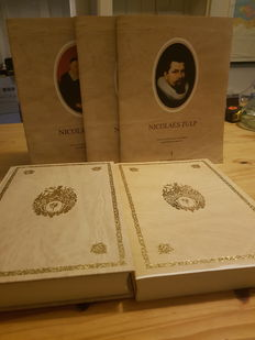 Facsimile; Jhr. J. Six - Geneesinsighten van Dr. Nicolaes Tulp etc. In't Duyts - 2 books and 7 fascicles in slipcase - 1990
