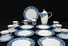 Rosenthal - Coffee/tea set model number 9200, called Avenue, designed by Frogdesign. Decor Brooklyn