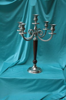 large solid candle holder