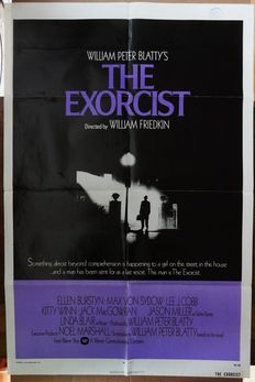 Horror, Fantasy, Scifi movies - 20x original movie posters from the '60/'70/'80 - The Excorsist, Krull, Chuck Norris, The Neverending Story