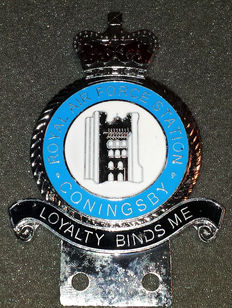Autogrill embleem - Royal Air Force Station - Coningsby - Loyalty binds me