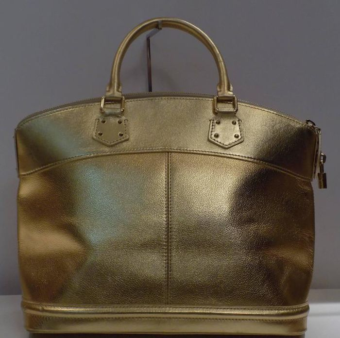Louis Vuitton Suhali Gold Bag OizQw