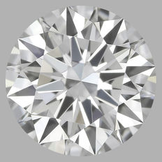 GIA 0.50 ct  ROUND BRILLIANT Cut diamond DIF -serial#1517