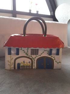 Braccialini – Collectible bag, 'house' model with handles, Italy